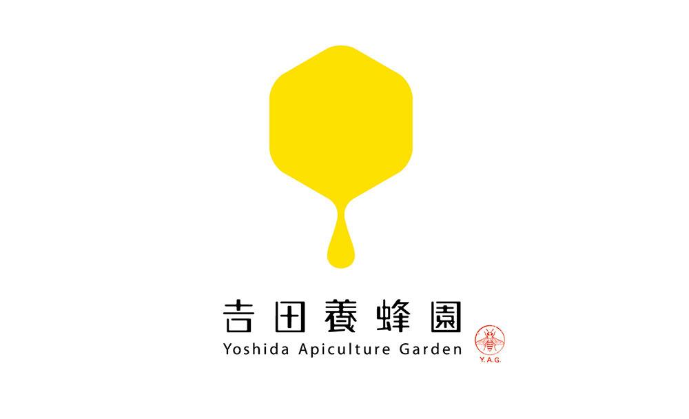 吉田养蜂园标志设计字体设计赏析