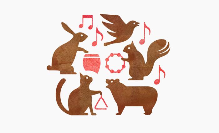 森下音楽教室字体设计赏析