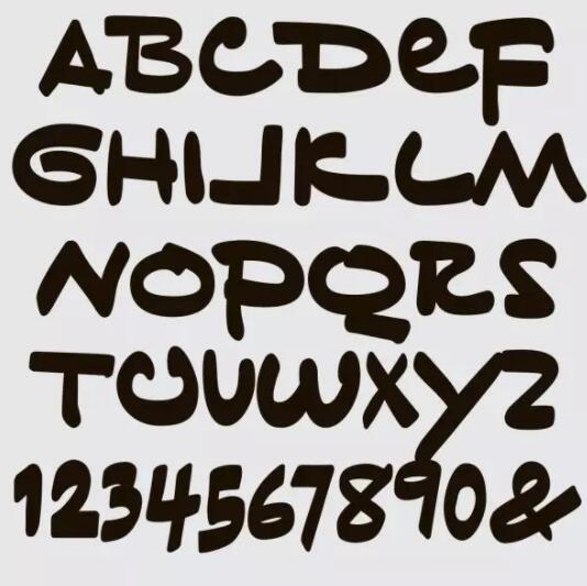 特朗普手写文件曝光,设计师把它做成专属字体,像极了小学生笔记