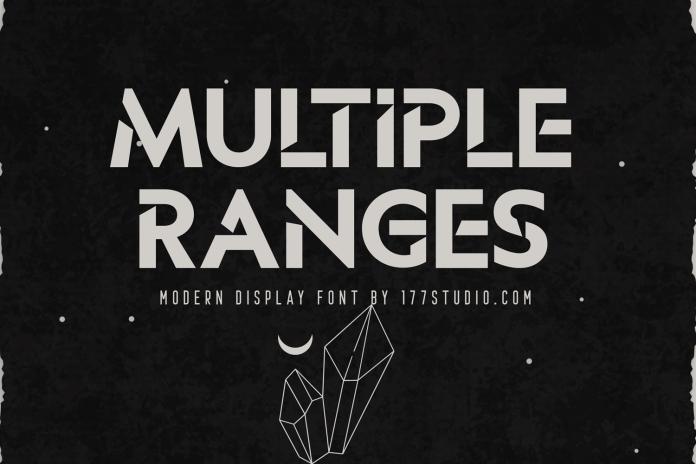 Multiple Ranges字体下载
